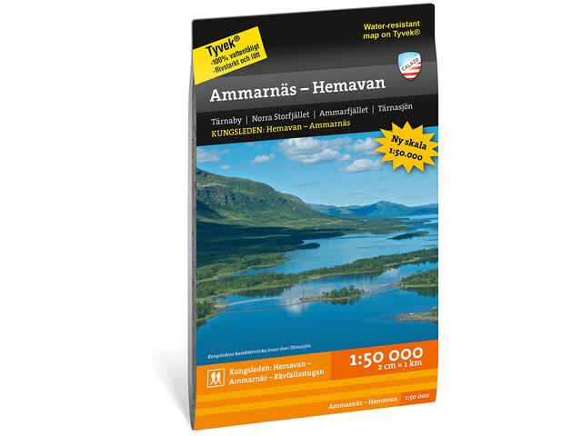 Calazo Ammarnäs – Hemavan 1:50.000